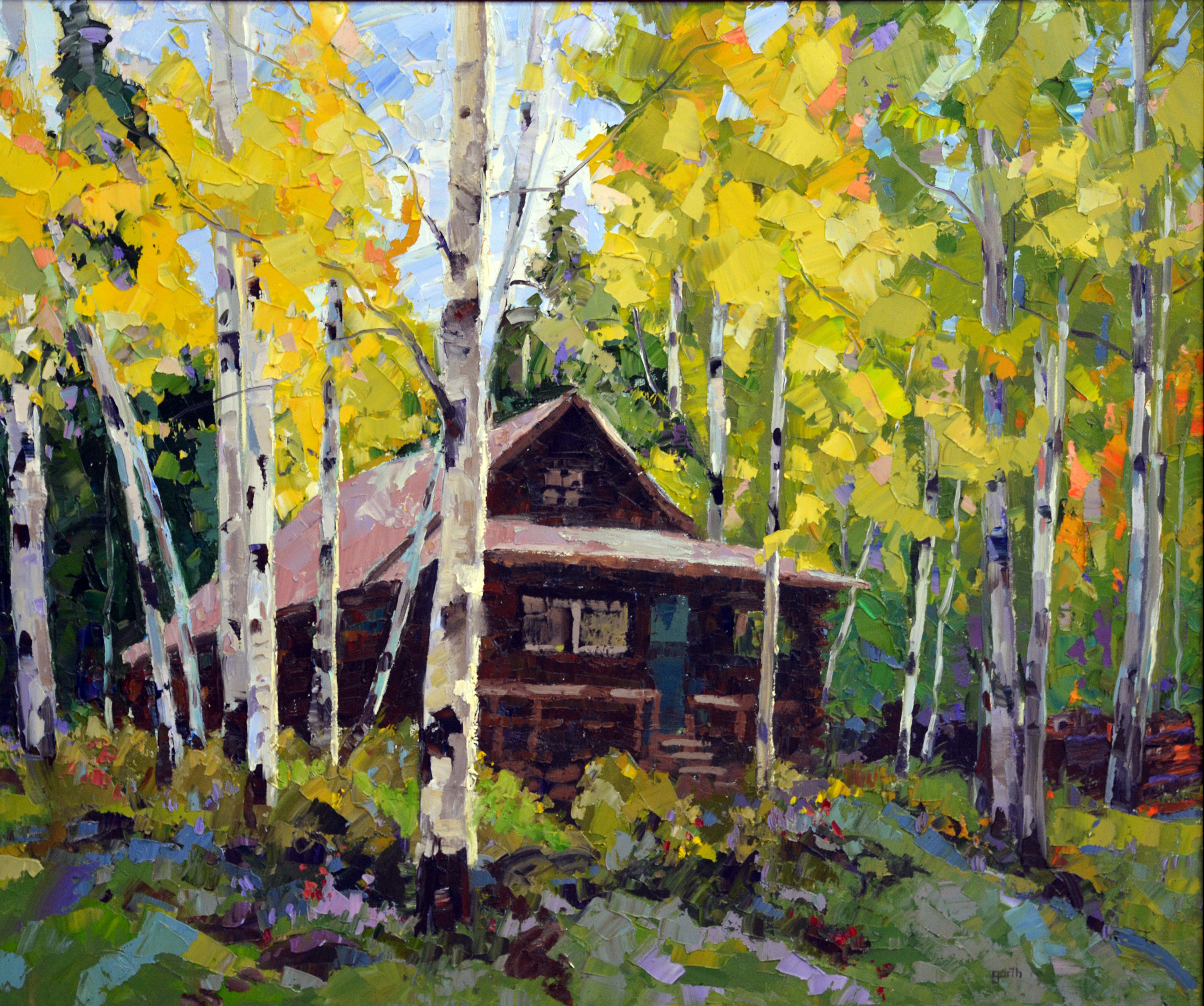 Cabin In The Woods 30x40